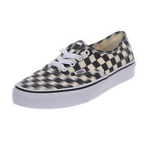 Vans sneakers ua authentic blur check black/classic white nero