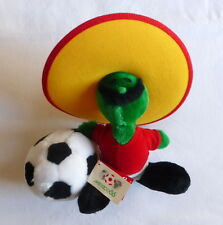 Vintage soft toy PIQUE the oficial mascot of WORLD CUP MEXICO 86 25 cm sealed