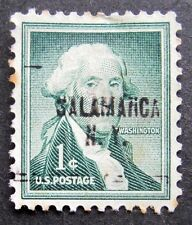 Sc # 1031 ~ 1 cent Liberty Issue, Washington, Precancel, SALAMANCA N.Y.