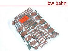 Kibri H0 Bausatz 4100-22 Ausstattung Gebäude Türen Fensterläden Dachrinnen Neu