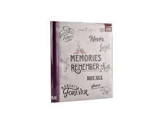 Large Self Adhesive Photo Album Hold Various Sized Picture Up to A4 Purple