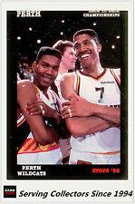 1992 Stops NBL Australia Basketball Card #91- Perth 90/91 Back To Back Champions