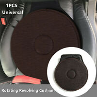 1PC Home Car Seat Rotating Revolving Cushion Memory Swivel Foam Aid Seat Pad Mat