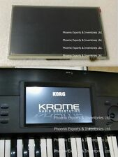 KORG KROME LCD SCREEN with Touch Screen Digitizer DISPLAY PANEL