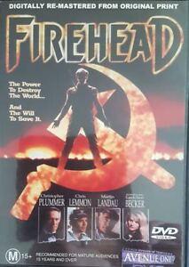 Fire head DVD 1991 Christopher Plummer Political Thriller Power To Destroy