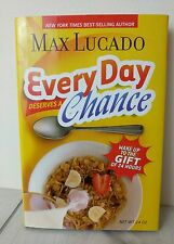 Max Lucado Book Every Day Deserves a Chance Gift 24 Hours Christian Hardcover