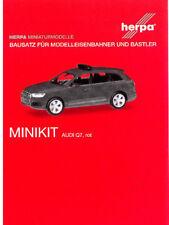 HERPA MiniKit 1:87 PKW AUDI Q7, rot Bausatz (Feuerwehr) #013536 NEU/OVP