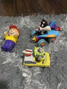 Vintage Disney Pixar Toy Story Buzz Lightyear Pizza Planet /1998 Warner Bros Toy