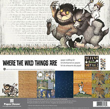 Where the Wild Things Are  Paper Crafting Kit from Paper House Productions  NEW!