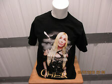 New listing Vintage Giant Cher Living Proof Farewell Tour 2002 Large Black T-Shirt Preowned