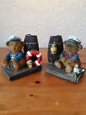 Beautiful vintage/collectable Teddy Bear Sailor Bookends