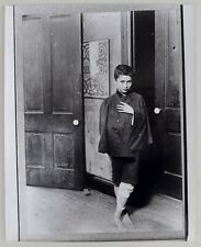Photo Lewis Hine - Georges Eastman House - Tirage argentique 1970 -