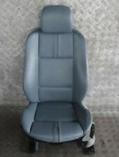 BMW X3 Series E83 Sport Heated Front Left N/S Seat Grey Blue Graublau Leather