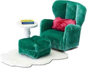 LUNDBY™ 60.2093 smaland Sessel mit Schemel für Puppenhaus in 1:18