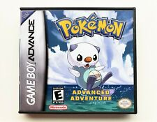 Pokemon Advanced Adventure Game / Case Nintendo Game Boy (GBA) -  Fan Made (USA)