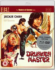 Drunken Master 1978 Masters of Cinema Dual Format Blu-ray DVD Edition
