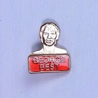 Manchester United George Best Football Brooch Pin Badge