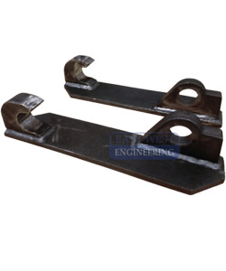 CHALLENGE STYLE  HITCH PLATES ( weld-on )