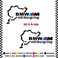 PEGATINA/STICKER/DECAL/AUFKLEBER/VINYL CIRCUITO NURBURGRING BMW M
