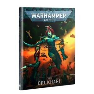 2021 Codex Drukhari Book Warhammer 40K NEW