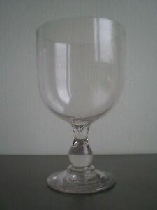 GRAND VERRE SOUFFLE ANCIEN CONTENANCE 1L DECO FETES MARIAGE XIX°s VIN ALCOOL