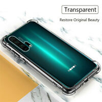 For Huawei Honor 20 Pro 10 Lite 8X 8C 7C 8S 7A Shockproof Crystal TPU Case Cover