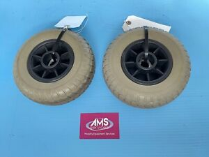 Pair of Shoprider Cameo 4mph Mobility Scooter Rear Wheels - Parts D