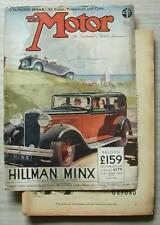 The MOTOR Magazine 9 May 1933 DODGE 20HP & 24HP Brooklands