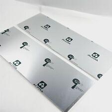 "New listing .25"" thick 1/4 Cast Aluminum Mic-6 Alcoa Plate 7.375"" x 24"" Qty 2 sku151335"