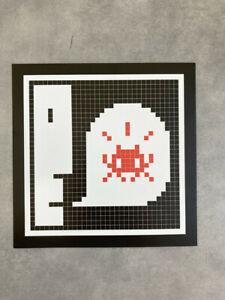 Flyer Invader Prints On Paper Alert MGLC Ljubljana