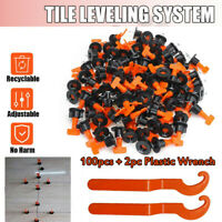 100 Pcs/Pack Reusable Anti-Lippage Tile Leveling System Positioning T-lock Tool