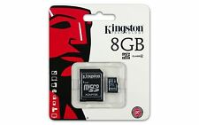 Class 4 Kingston 8GB Micro SD Flash Memory card for Ricoh Panasonic Camera