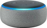 NEW Amazon Echo Dot 3rd Generation w/ Alexa Voice Media Device - Heather Gray