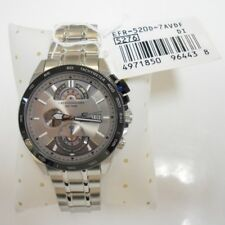Brand New Casio EFR-520D-7AVDF Edifice Chronograph Grey/Silver Men's Watch