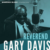 Rev. Gary Davis - Worried Blues [New Vinyl LP]