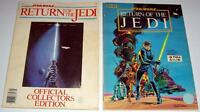 Lot of (2) STAR WARS: RETURN OF THE JEDI Books: Collector's Ed. & Marvel 1983!