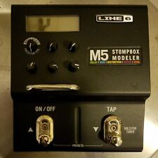 Line 6  M5 STOMPBOX MODELER Multi-Effects Guitar Effect Pedal with power adapter