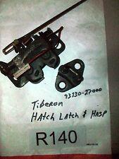 1998 Hyundai Tiburon Trunk Latch Mechanism W/Hasp-Catch  93230-2700 OEM#R140