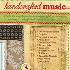 HANDCRAFTED MUSIC (PROMO CD) Dr John*Cassandra Wilson*Amos Lee*Medeski Martin