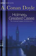 Sherlock Holmes's Greatest Cases by Arthur Conan Doyle - NEW - (Paperback, 2002)