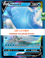Wailord V 013/073 Pokemon TCG Online PTCGO