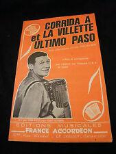 Partitura Corrida à la Villette y Ultimo Paso Prud'Hombre Music Sheet
