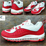 NIKE AIR MAX 98 University Red Mens Trainers Size UK 10.5 EUR 45.5 640744 602