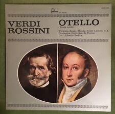 Rossini And Verdi: Otello Stereo Fontana LP