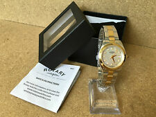 50 ROTARY LADIES WATCH TWO TONE SILVER & GOLD MOTHER OF PEARL LB03499/40