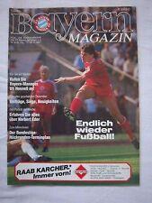 Orig.PRG   1.Bundesliga   1986/87   FC BAYERN MÜNCHEN - FORTUNA DÜSSELDORF ! TOP