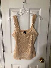 NATORI, Beige & Pink Lace, Size L, Originally $65.00, NWT