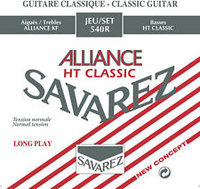 Savarez Classic Guitar Alliance HT Classic Bass Strings, Normal Tension 540R