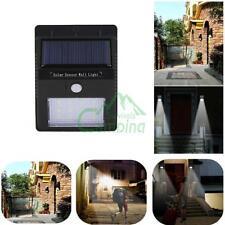 Outdoor 12 LED Solar Powered Motion Sensor Wall Light Garden Lamps Waterproof