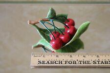 Fitz Floyd Le Jardin Potageres Cherries Figurine (Discontinued) New